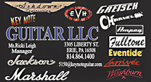 Key Note Guitar Sales Service Lessons